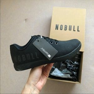 Nobull project all black trainer